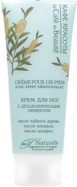 Le Cafe de Beaute Krem dezodorujący do stóp - Le Café de Beauté Foot Cream Krem dezodorujący do stóp - Le Café de Beauté Foot Cream