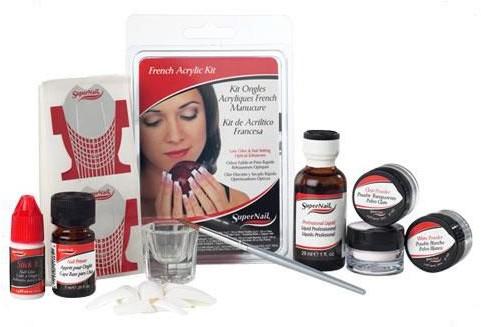 SuperNail French Acrylic Kit export-222-0
