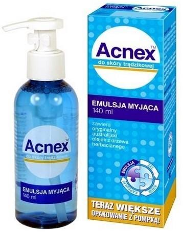Acnex Emulsja Myjąca 140ml Z Dozownikiem Trądzik