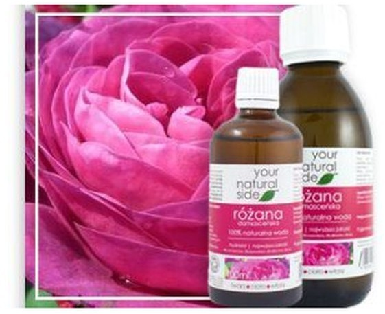 Organic Your Natural Side Your Natural Side Woda z Kwiatów Róży Damasceńskiej 100ml