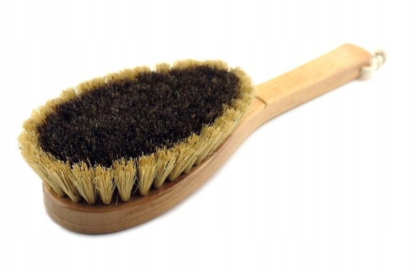 Szczotka do masażu ciała z naturalnego włosia 100%