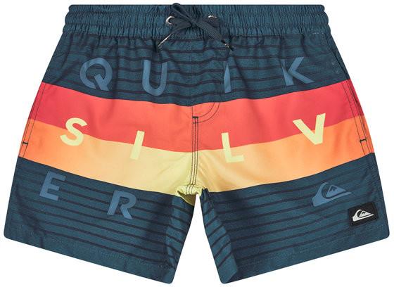Quiksilver Szorty kąpielowe Word Block EQBJV03267 Kolorowy Regular Fit