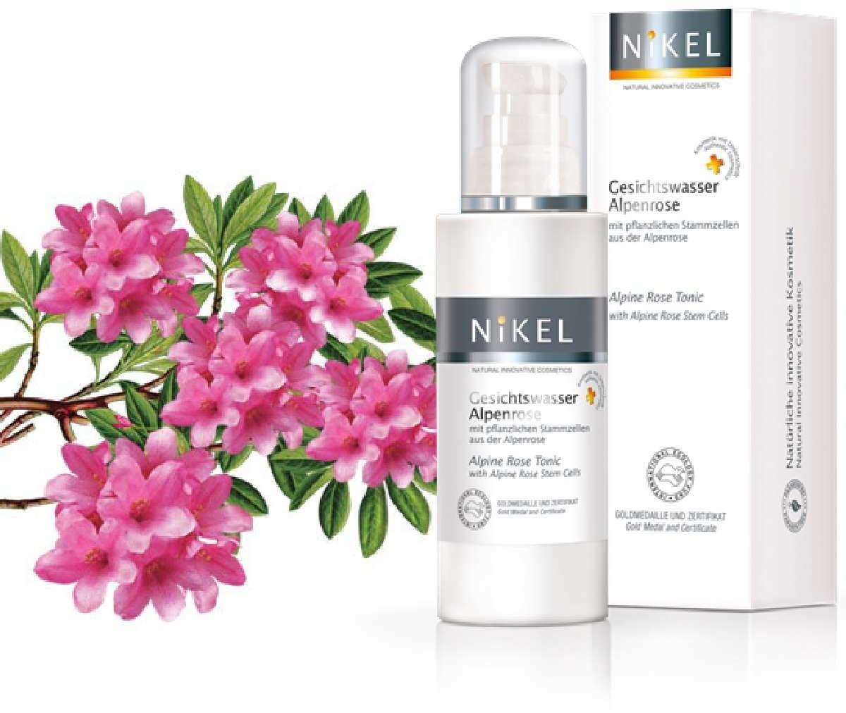 NiKEL tonik z komórkami macierzystymi róży alpejskiej, 125 ml