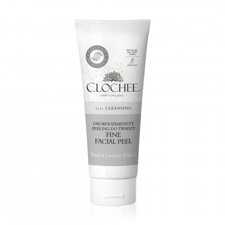 Clochee drobnoziarnisty peeling do twarzy, 100ml CLO000017