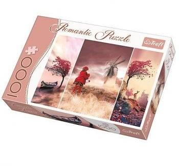 Trefl Puzzle Romantic Baśniowa kraina (1000 elementów)
