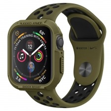 Spigen Etui Rugged Armor Apple Watch 4 - 40mm, zielone 8809640254208