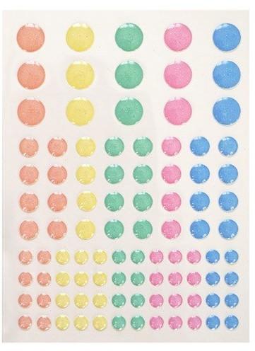 Incood Incood, kropki samoprzylepne, 95 elementów