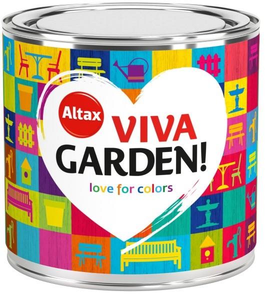 Altax Emalia akrylowa Viva Garden różowe goździki 0 25 l