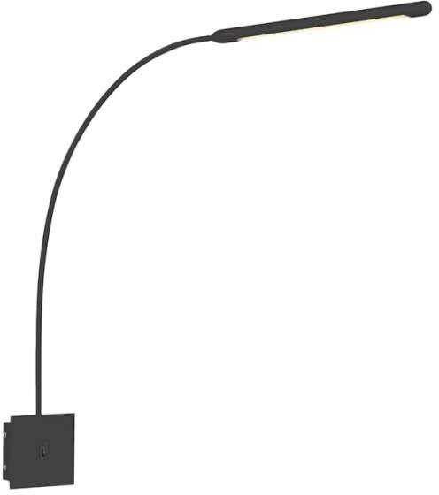 Markslojd Kinkiet LAMPA ścienna ANTENNA 107313 metalowa OPRAWA do czytania LED 6W minimalistyczna biała 107313