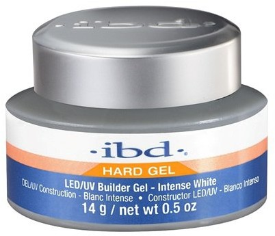 IBD Hard Gel Led/Uv Builder Intens White 14g