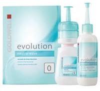Goldwell Evolution płyn do trwałej ondulacji typ 0 do włosów mocnych i naturalnych zestaw