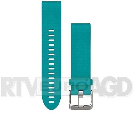 Garmin Pasek silikonowy Quick Fit 20mm Fenix 5S turkusowy  