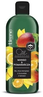 Lirene MANGO & POMARAŃCZA Żel pod prysznic z olejkiem z mango, 400 ml 10E08240-01-01