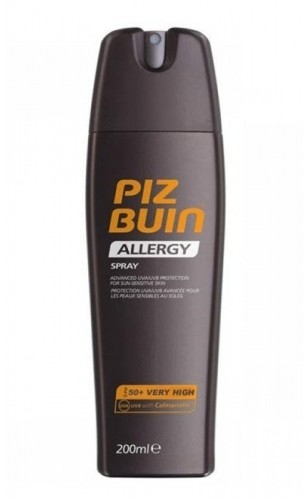 Piz Buin Allergy Sun Sensitive Skin Spray SPF50 preparat do opalania ciała 200 ml dla kobiet