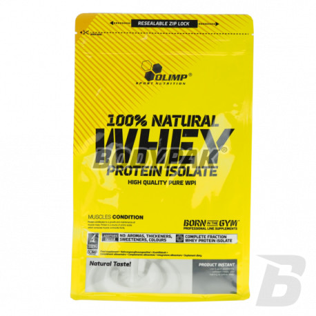 Olimp 100% Natural WHEY Protein Isolate 600g (903)