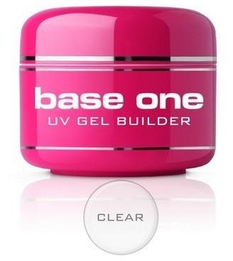 Silcare Base One CLEAR Żel UV 15g budujący)