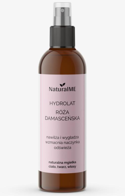 NaturalME hydrolat róża damasceńska koi naczynka