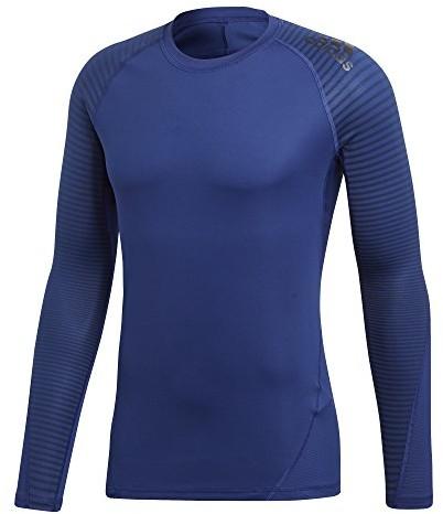 Adidas Alpha Skin długa tulejka Sport Tee SS18, niebieski, XS CD7203