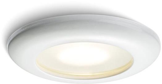 Redlux Lampa do zabudowania K/G ACUA GU5,3 biała IP44 12V R10407/12 R10407/12