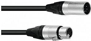 NEUTRIK Sommer SOMMER Kabel DMX AES / EBU XLR 5pin 1.5m bk 3030747A