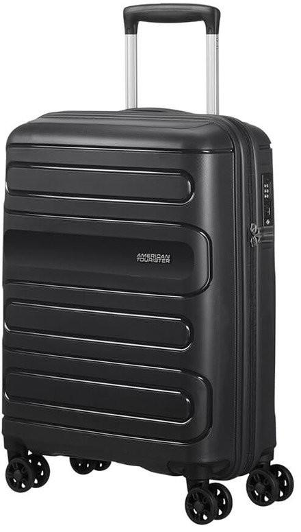 5964fd442b8b3 American Tourister Mała walizka 51G czarna 51G*09001