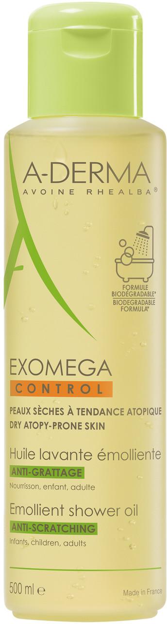 A-Derma Exomega Control, olejek emolient pod prysznic, 500 ml Duży wybór produktów | Dostawa kurierem DHL za 10.90zł !!!| Szybka wysyłka do 2 dni roboczych! | 7083337