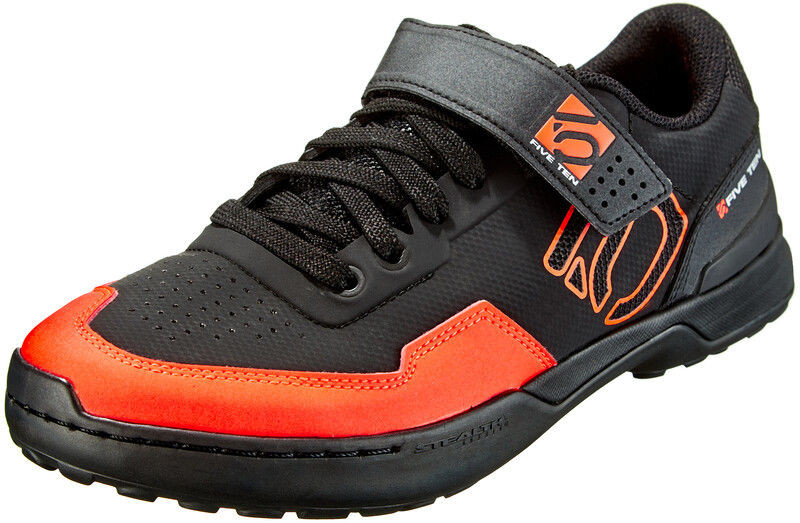 Adidas five ten Five Ten Kestrel Lace Buty MTB Mężczyźni, core black/solar red/grey two UK 11,5 EU 46 2/3 2020 Buty MTB zatrzaskowe EF6961-11,5
