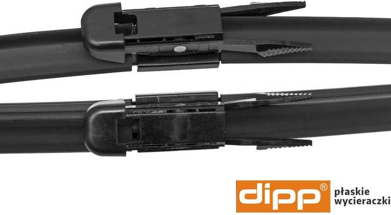 Dipp Wycieraczki Fiat Multipla, 01.2006-10.2010 (186) 458STB2422