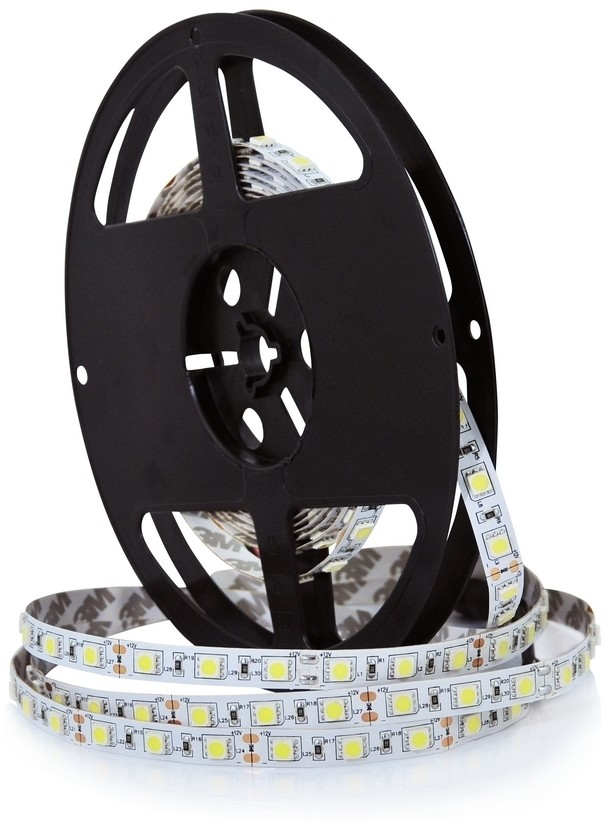 Polux LED Taśma 5m LED/45W/12V IP65 biały