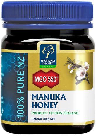 Manuka Health Limited Miód Manuka MGO 550+ Nektarowy 250g MM550250