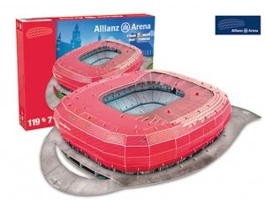 Trefl Model stadionu Bayern Munchen (M49001)