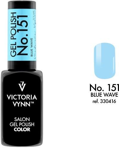 Victoria Vynn Lakier hybrydowy GEL POLISH COLOR 8 ml - Blue Wave 151 330416-VICTORIA-VYNN