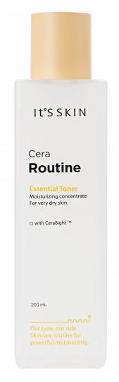 ITS SKIN Cera Routine Essential Toner Nawilżająco-obudowujący tonik do twarzy 200ml 45027-uniw