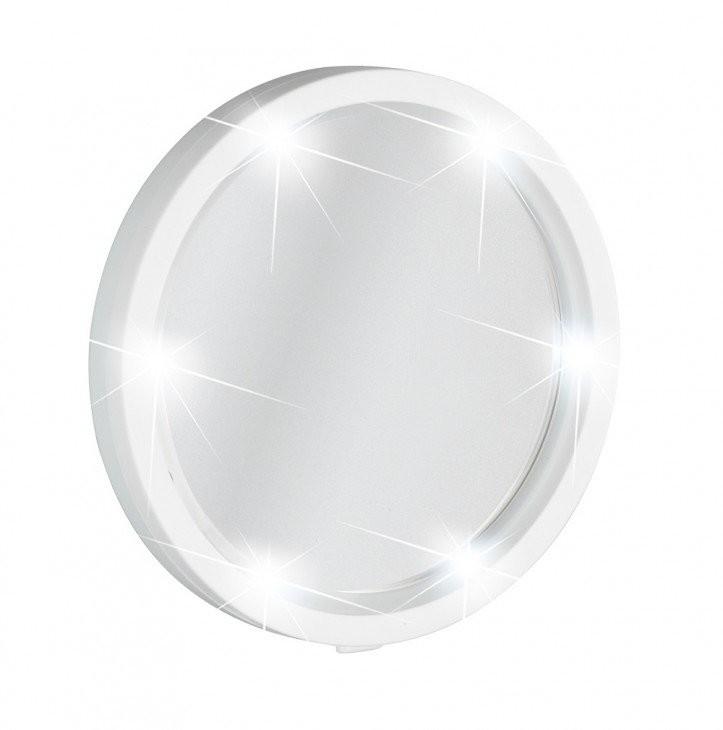 Wenko Lusterko kosmetyczne Travel z podświetlaniem LED powiększenie x5 B07237JNK5