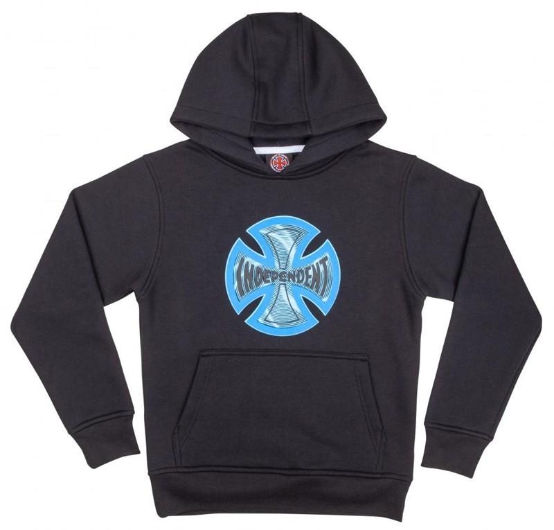 Independent bluza Youth Coil Hood Black BLACK) rozmiar 8-10