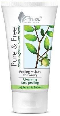 Ava Laboratorium Pure&Free peeling myjący do twarzy olej jojoba 150ml