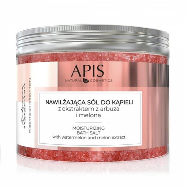 Apis arbuzowe orzeźwienie, sól do kąpieli nawilżająca z ekstraktem z arbuza i melona, 650g P133747