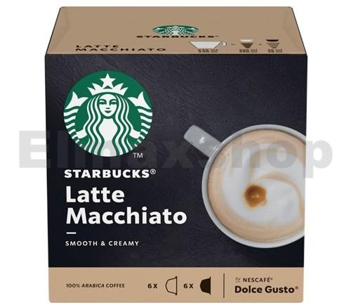 Starbucks Kapsułki Starbucks Latte Macchiato do Dolce Gusto