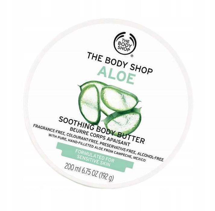 The Body Shop Masło do ciała Aloe 200 ml