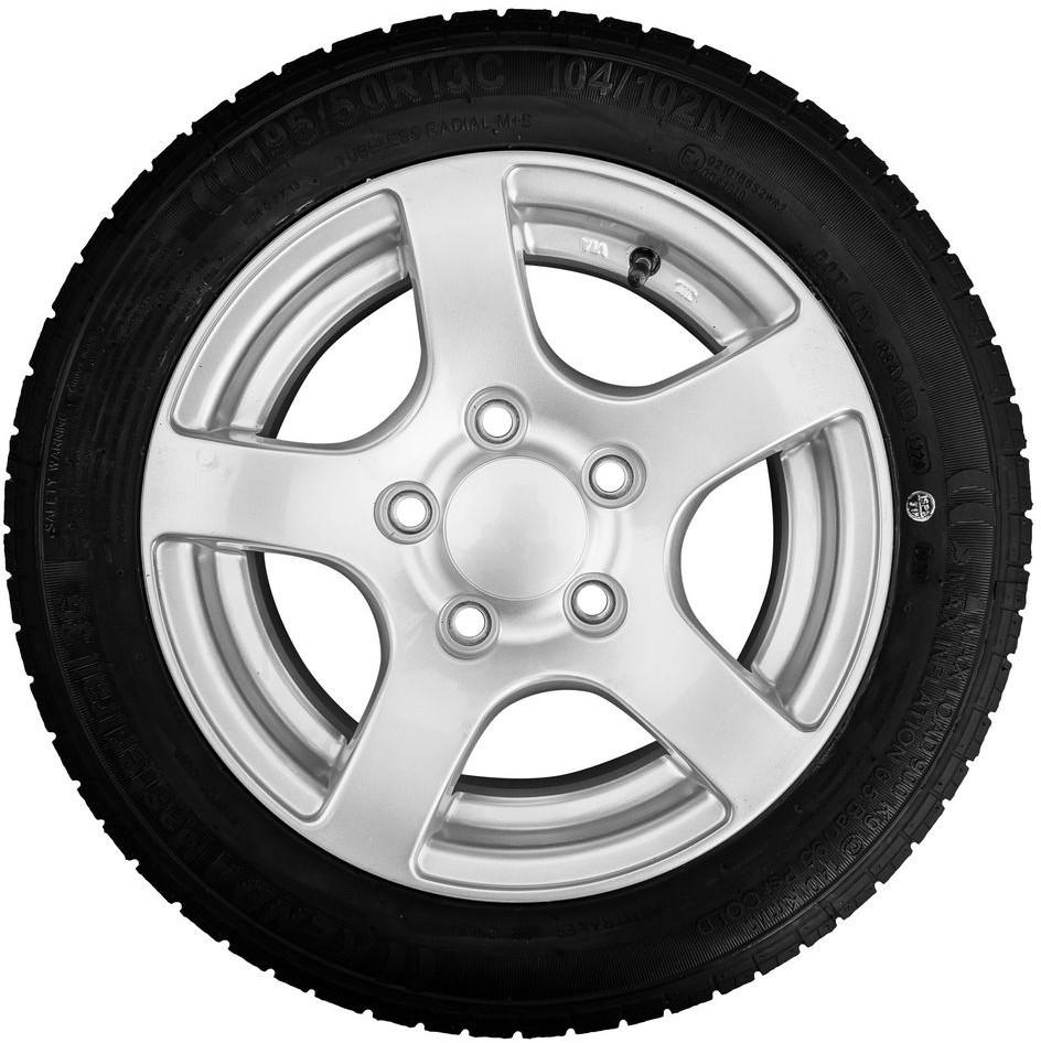 Starco Kenda Koło aluminiowe srebrne 195/50 R13 5x112 104/102N Kenda 682600