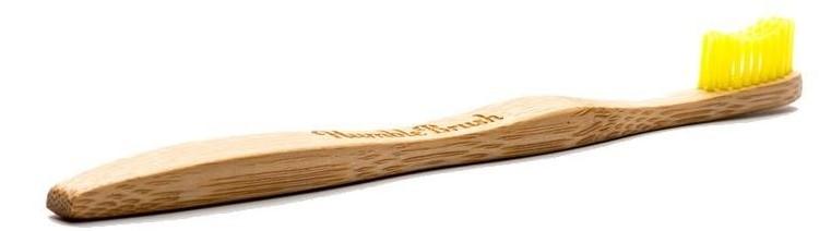 HUMBLE Bambusowa szczoteczka do zębów Soft Żółta 70456-uniw