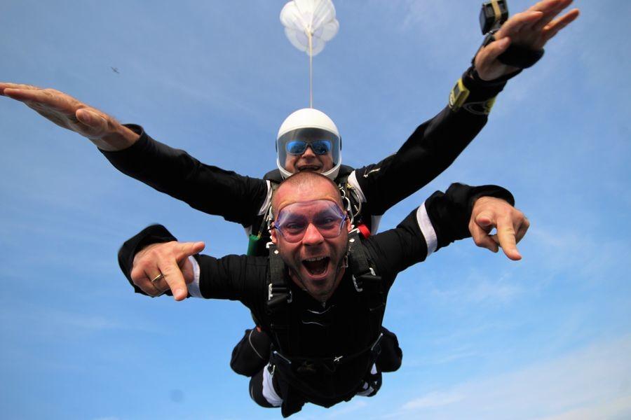 Skok ze spadochronem z wideorejestracją Zielona Góra