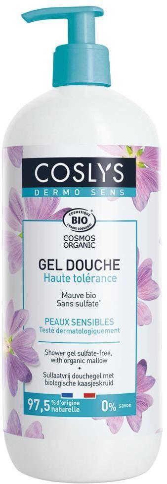 Coslys Dermosens, Żel pod prysznic z organiczną malwą, 950 ml