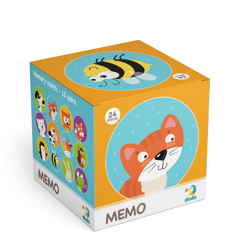 TM Toys DODO Minigra memory Zwierzęta