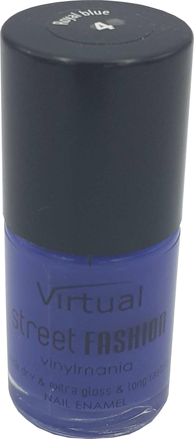 Virtual Lakier do Paznokci Street Fashion 4 Royal Blue 401850