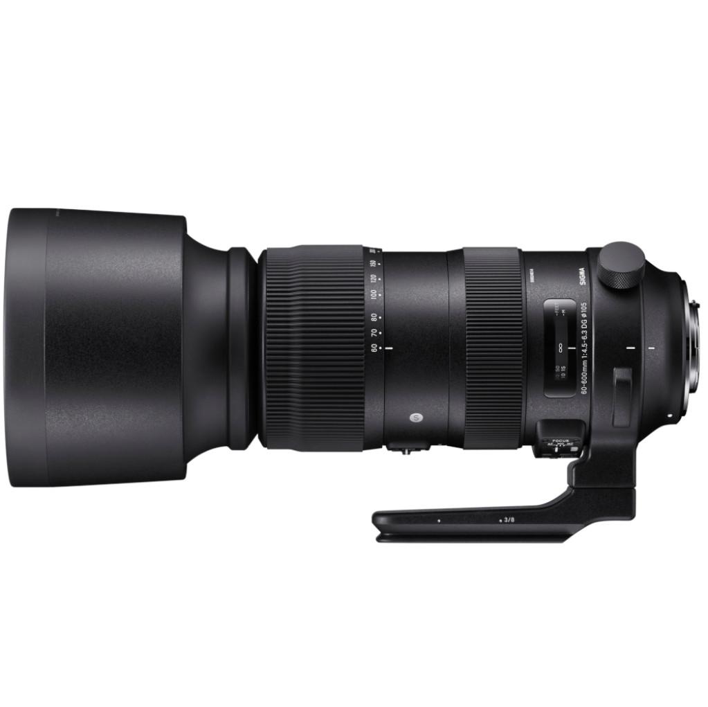 Sigma S 60-600mm f/4.5-6.3 DG OS HSM Canon