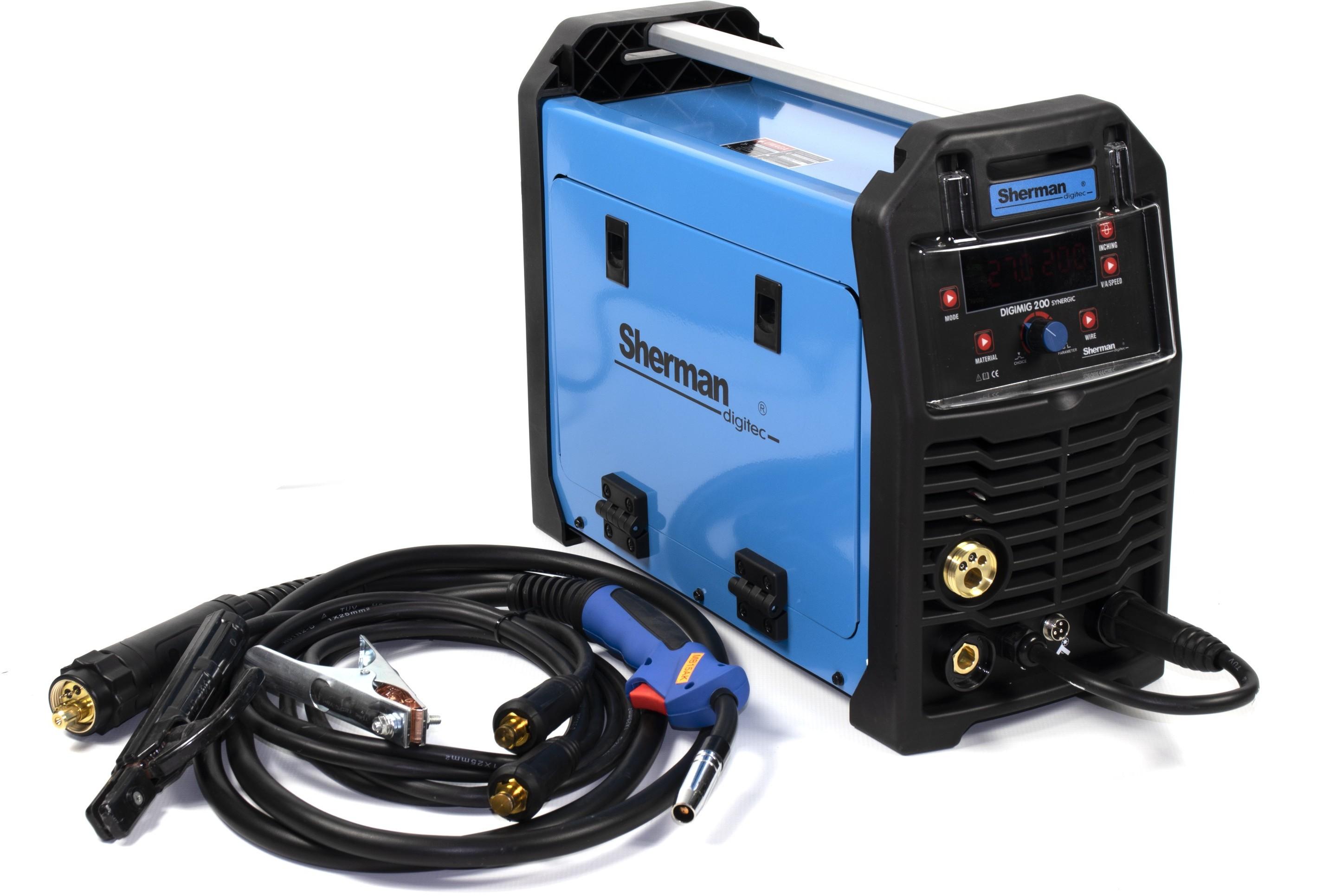 Sherman DIGIMIG 200X Synergic - zestaw  5