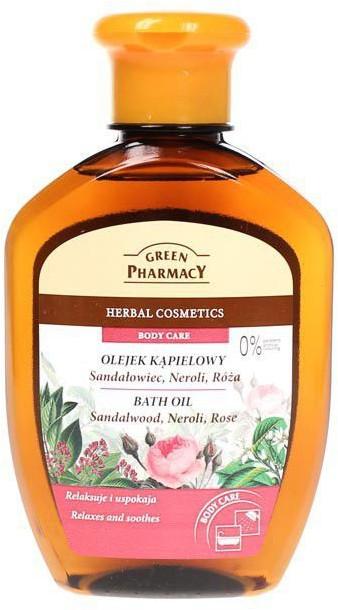 Green Pharmacy Sandałowiec Neroli Róża Nawilżajacy olejek kąpielowy 250 ml GFOLEJEKKĄPIEL