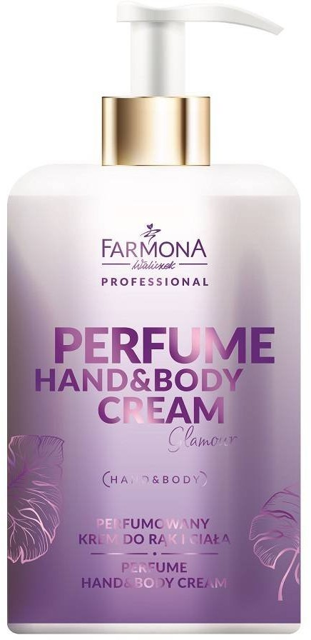 Farmona Professional Farmona Perfume Hand&Body Cream Glamour - Perfumowany Krem Do Rąk i Ciała 300ml PER0003