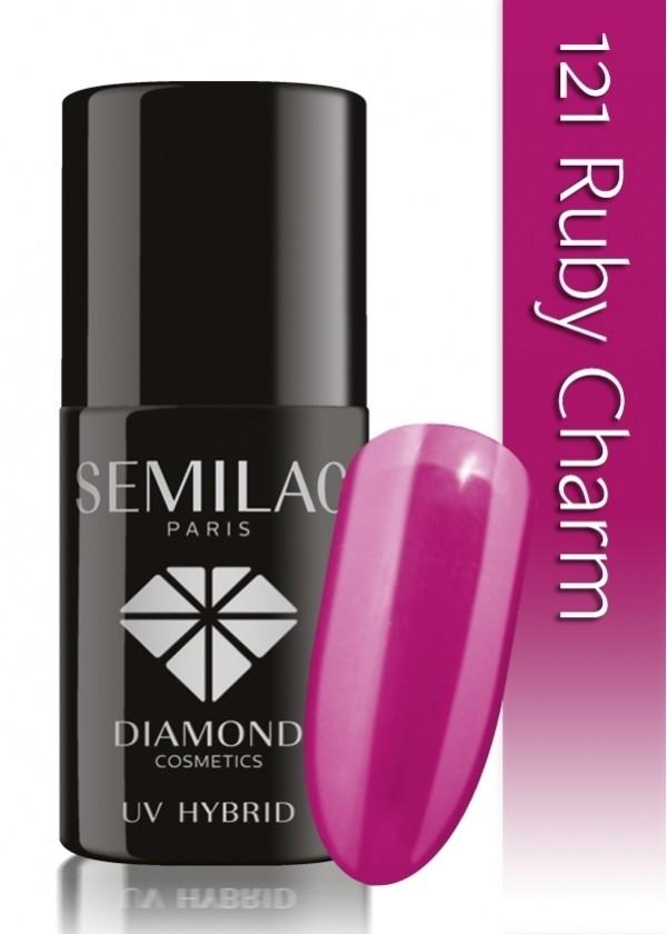 Semilac Lakier Hybrydowy Semilac 121 Ruby Charm - 7 Ml 5016